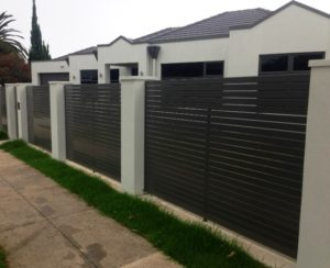 Aluminium Slats Fencing