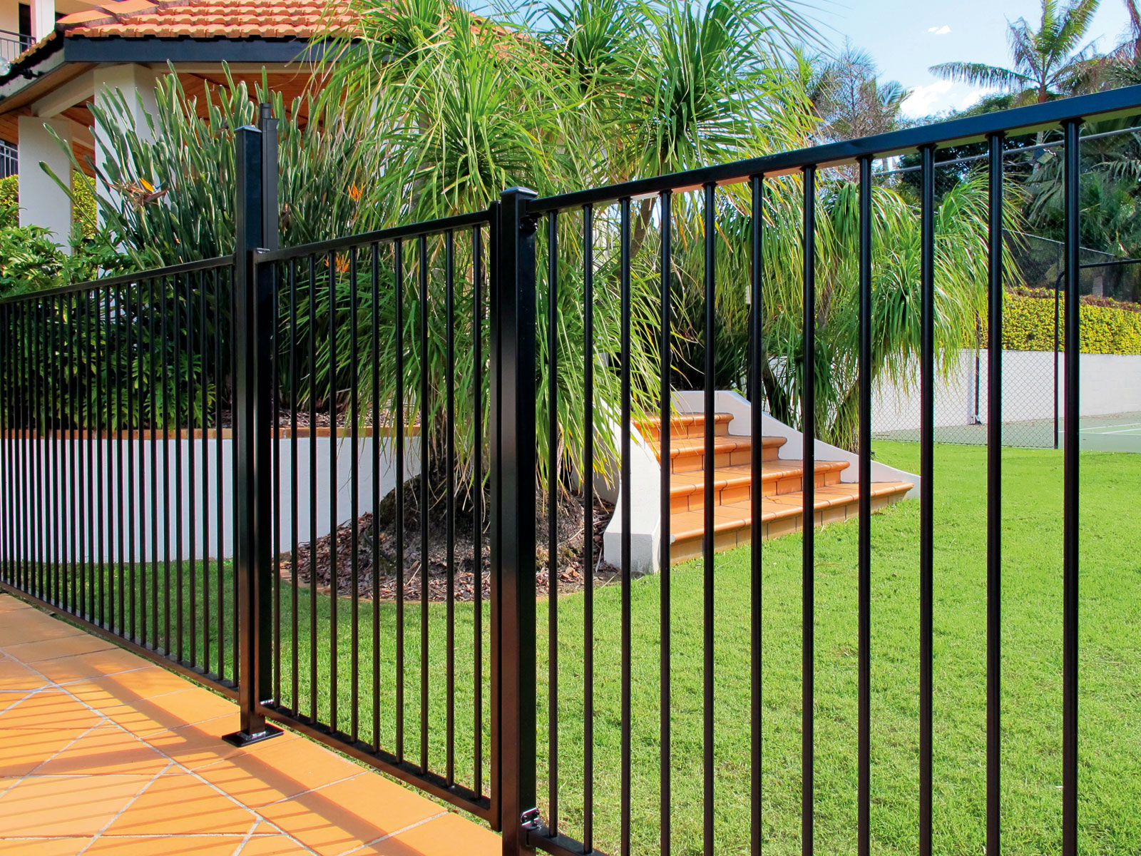 Pool Fence With Gate Westaus Fencing